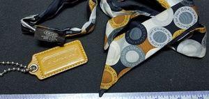 Coach Bag/Purse Accessories Ribbon/Keychain